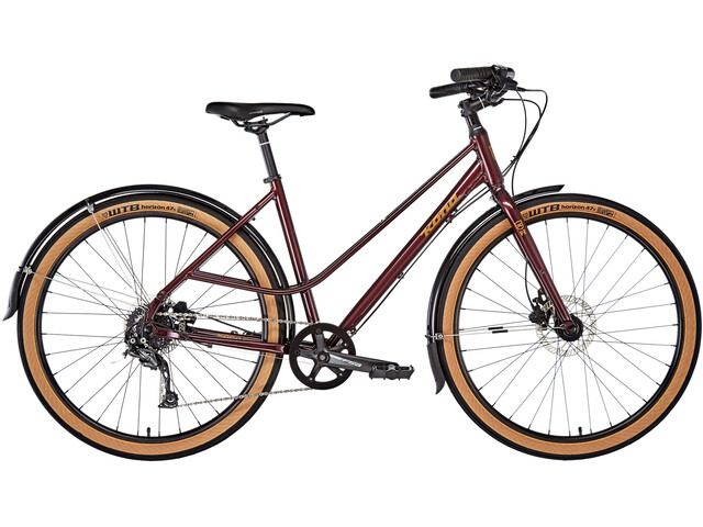Kona Coco SE, Gloss Deep Red / Metallic Gold Decals